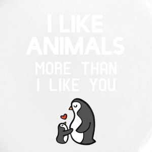 I like animals more than I like you - Large Buttons