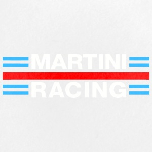 Martini Racing White - Large Buttons