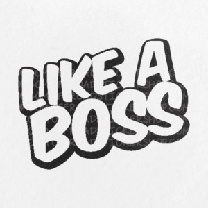 Like A Boss JustMarMar shirt - Large Buttons