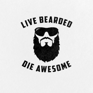 Live Bearded - Large Buttons