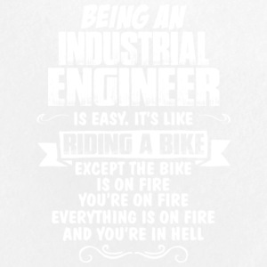 Being An Industrial Engineer T Shirt - Large Buttons