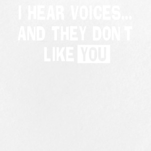 I Hear Voices... And They Don't Like You - Large Buttons