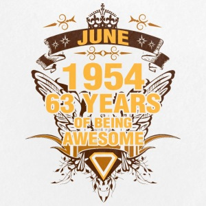 June 1954 63 Years of Being Awesome - Large Buttons