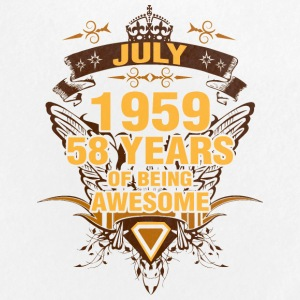 July 1959 58 Years of Being Awesome - Large Buttons