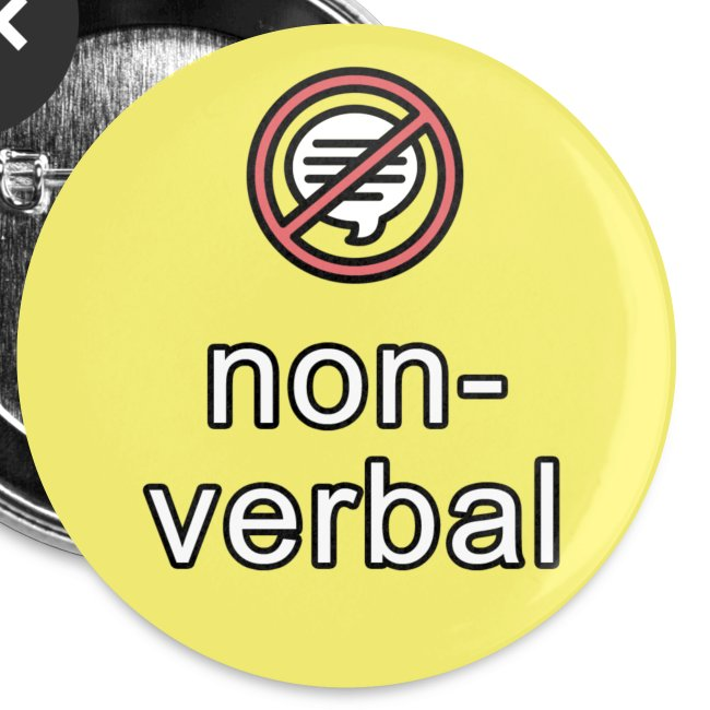 non-verbal communication button