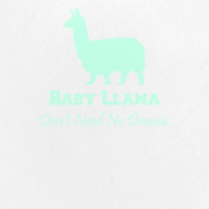 Baby llama don t need no drama - Large Buttons