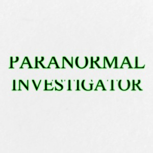 PARANORMAL INVESTIGATOR - Large Buttons