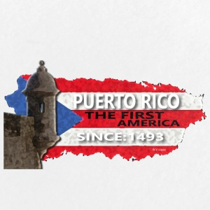 Puerto Rico The First America - Large Buttons