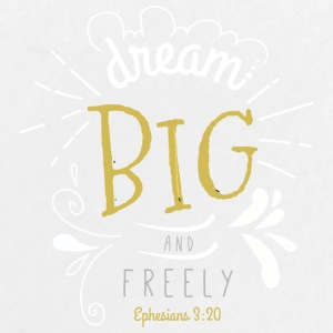 dream big and freely - Large Buttons