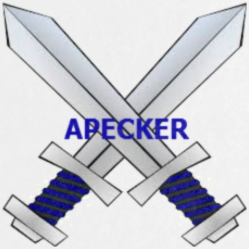 Apecker Logo - Buttons large 2.2'' (5-pack)