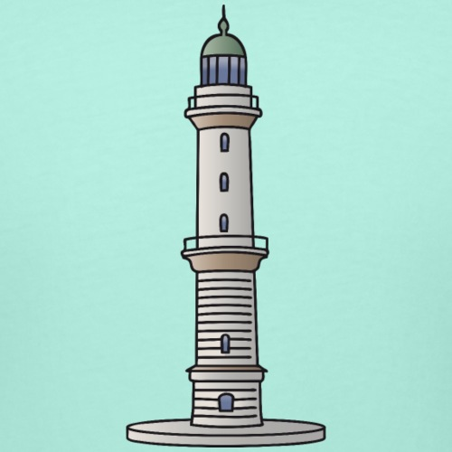 Lighthouse Warnemünde Rostock - Women's Curvy T-Shirt
