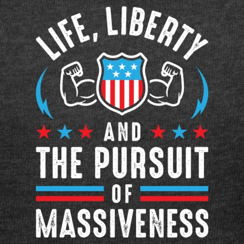 Life, Liberty And The Pursuit Of Massiveness - Women's Curvy T-Shirt