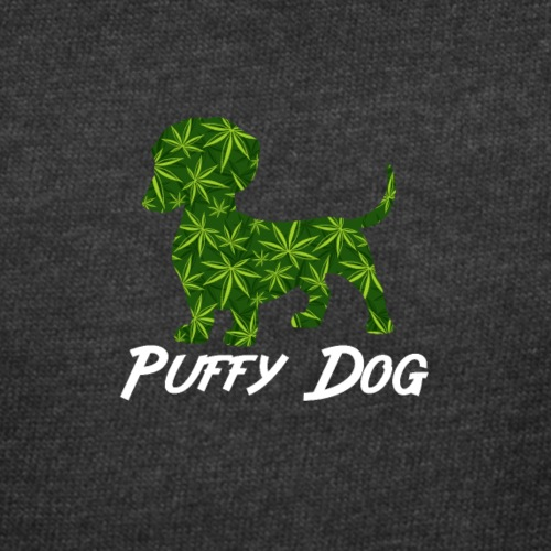PUFFY DOG - PRESENT FOR SMOKING DOGLOVER - Women's Curvy T-Shirt