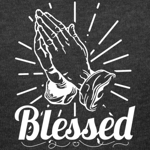 Blessed (White Letters) - Women's Curvy T-Shirt