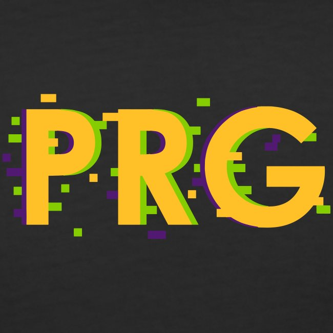 PRG distorted Neon libertarian Design