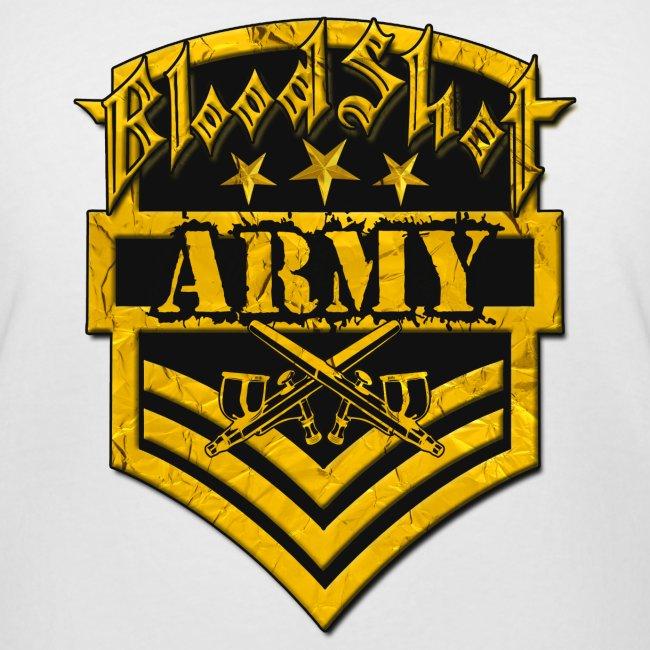 BloodShot ARMYLogo Gold /Black