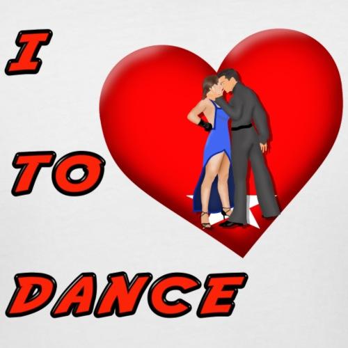 I Heart Dance - Women's Curvy T-Shirt