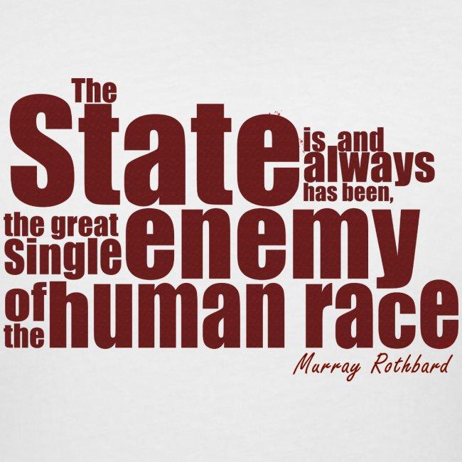 enemy human race rothbard zitat