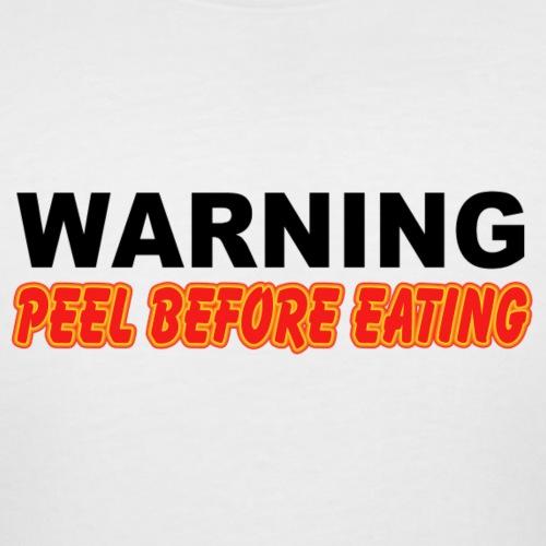 Peel Before Eating - Women's Curvy T-Shirt