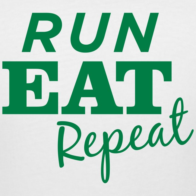 Run Eat Repeat buttons medium
