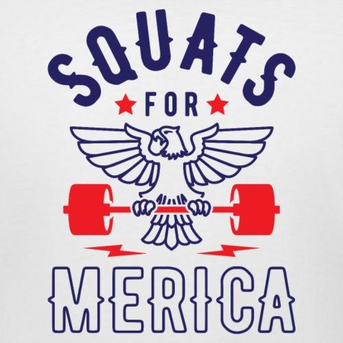 Squats For Merica v2 - Women's Curvy T-Shirt