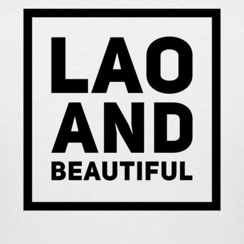 LAO AND BEAUTIFUL black - Women's Curvy T-Shirt