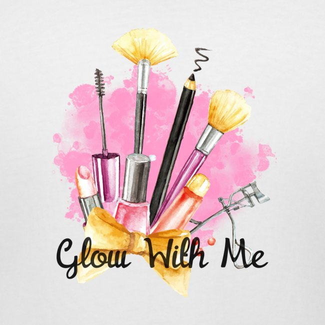 Glow With Me Makeup Logo