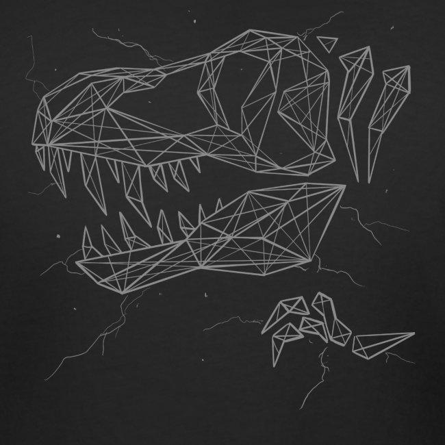 Jurassic Polygons by Beanie Draws