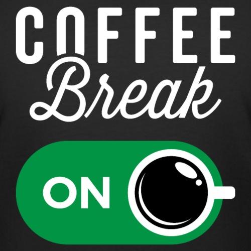Coffee Break On - Women's Curvy T-Shirt