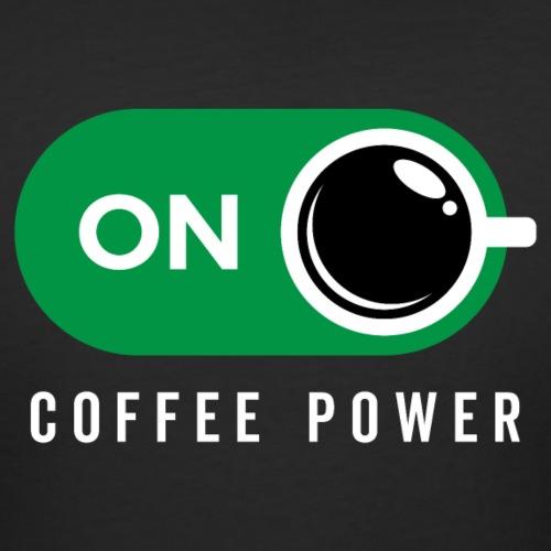 Coffe Power On - Women's Curvy T-Shirt
