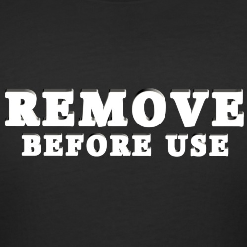 Remove Before Use for dark - Women's Curvy T-Shirt