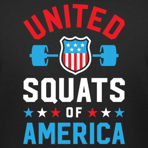 United Squats Of America v2 - Women's Curvy T-Shirt