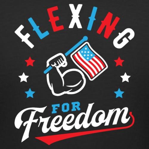 Flexing For Freedom - Women's Curvy T-Shirt