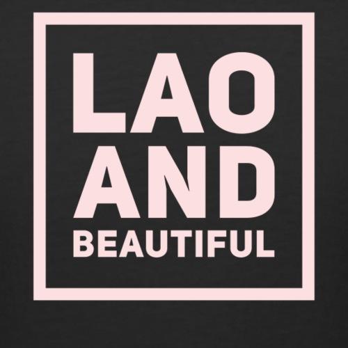 LAO AND BEAUTIFUL pink - Women's Curvy T-Shirt