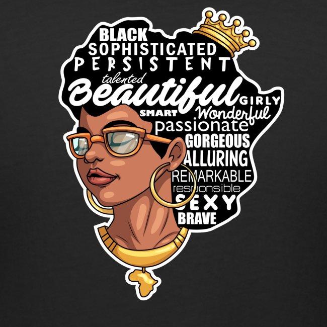 Educated Black Graduate