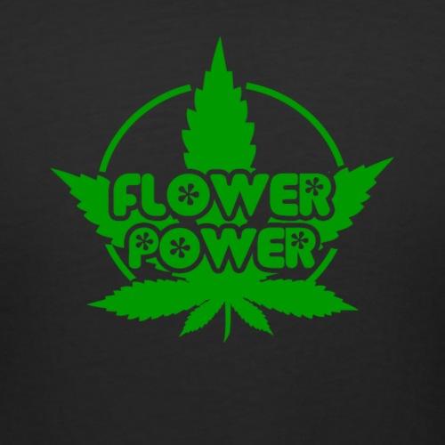 Flower Power Smoker - 420 Hippie Shirt men/women - Women's Curvy T-Shirt
