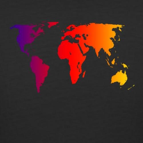 world - Women's Curvy T-Shirt