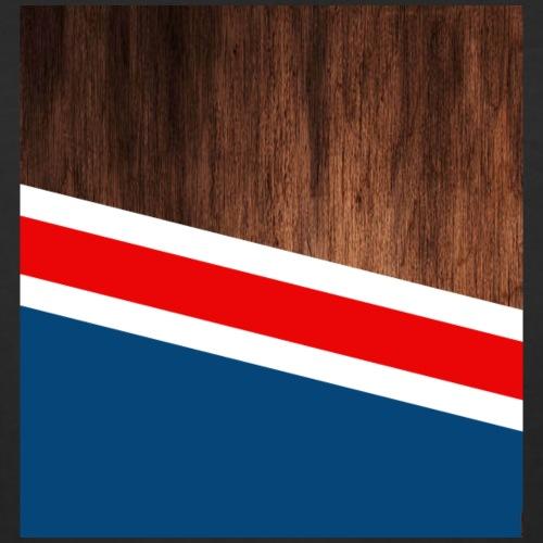 Wooden stripes - Women's Curvy T-Shirt