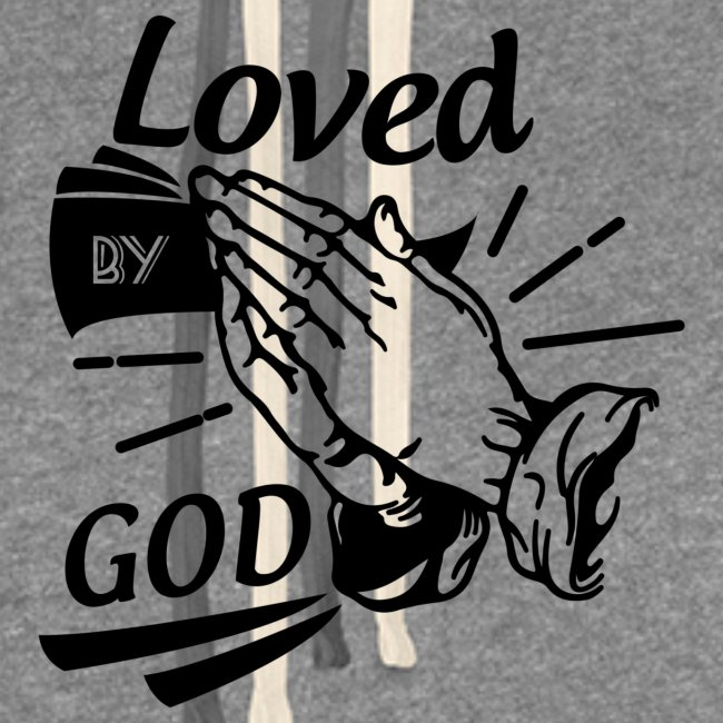Loved By God (Black Letters)