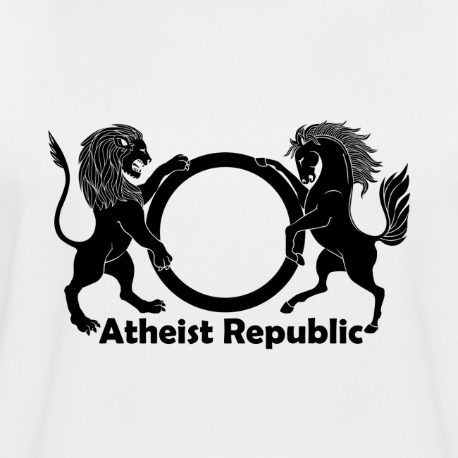 Atheist Republic Logo - Black