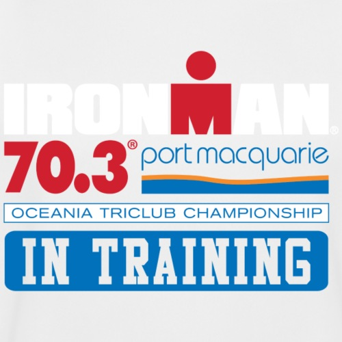 70.3 Port Macquarie alt - Men's Moisture Wicking Performance T-Shirt