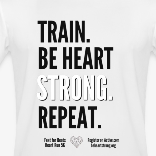 Heart Run training shirt - Men's Moisture Wicking Performance T-Shirt