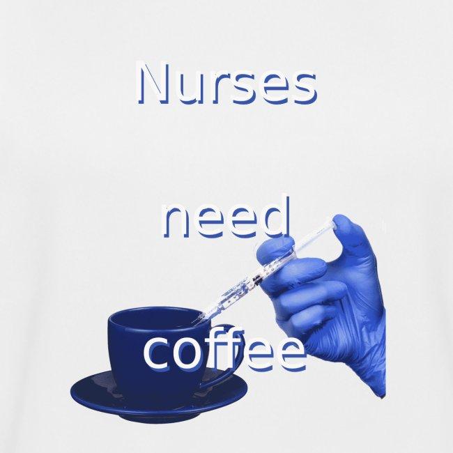 Nurses need coffee