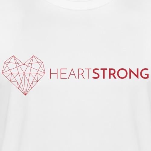 Heartstrong logo - Men's Moisture Wicking Performance T-Shirt