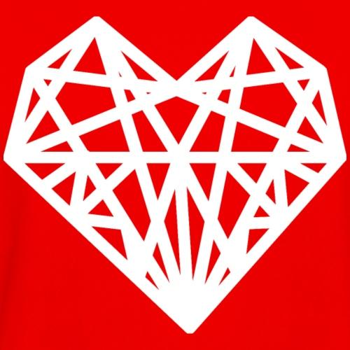 Heart Bold Knockout - Men's Moisture Wicking Performance T-Shirt