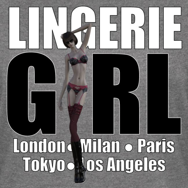 The Fashionable Woman - Lingerie Girl