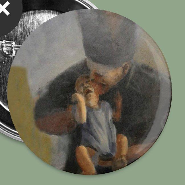 Corvus Coren 1492 Button