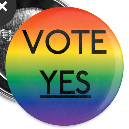 Vote Yes Button - Small Buttons