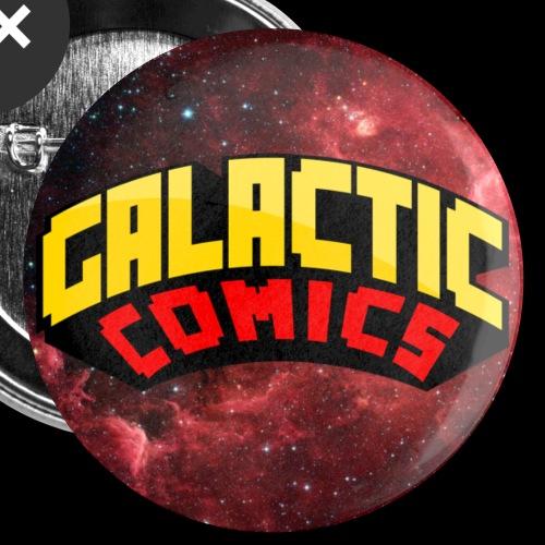 Galatic Comics Nebula Button/pin - Small Buttons