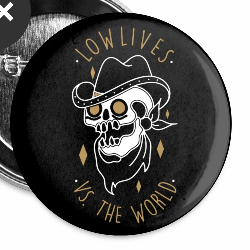 Lowlives vs The World Button 5-Pack - Small Buttons